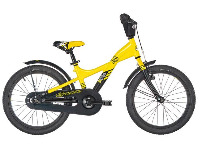 s'cool XXlite 18 - Vélo enfant - alloy jaune